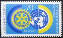 Poštovní známka Nìmecko 1987 Rotary International Mi# 1327