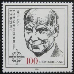 Poštovní známka Nìmecko 1996 Friedrich Bodelschwingh, teolog Mi# 1835