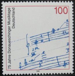 Poštovní známka Nìmecko 1996 Hudební festival Mi# 1890