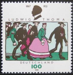 Poštovní známka Nìmecko 1996 Ludwig Thoma, satirista Mi# 1870