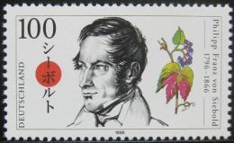 Poštovní známka Nìmecko 1996 Philipp Siebold, lékaø a diplomat Mi# 1842