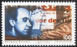 Poštovní známka Nìmecko 1996 Wolfgang Borchert, spisovatel Mi# 1858