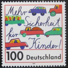 Poštovní známka Nìmecko 1997 Bezpeènost dìtí Mi# 1897