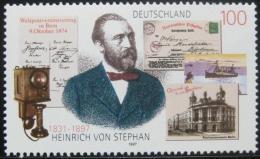 Poštovní známka Nìmecko 1997 Heinrich von Stephan Mi# 1912