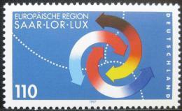 Poštovní známka Nìmecko 1997 Sársko-lucemburský sumit Mi# 1957