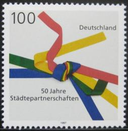 Poštovní známka Nìmecko 1997 Sesterská mìsta Mi# 1917