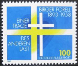 Poštovní známka Nìmecko 1993 Birger Forell, švédský knìz Mi# 1693