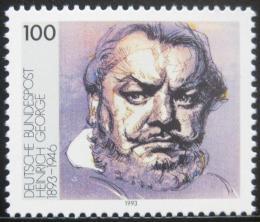 Poštovní známka Nìmecko 1993 Heinrich George, herec Mi# 1689