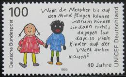 Poštovní známka Nìmecko 1993 Výbor UNICEF Mi# 1682