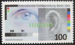 Poštovní známka Nìmecko 1993 Výstava rádií Mi# 1690