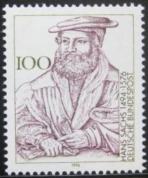 Poštovní známka Nìmecko 1994 Hans Sachs, básník Mi# 1763