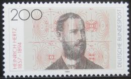 Poštovní známka Nìmecko 1994 Heinrich Hertz, fyzik Mi# 1710