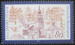 Poštovní známka Nìmecko 1994 Staade milénium Mi# 1709