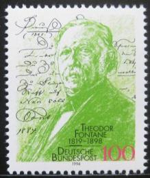 Poštovní známka Nìmecko 1994 Theodore Fontane,básník Mi# 1767