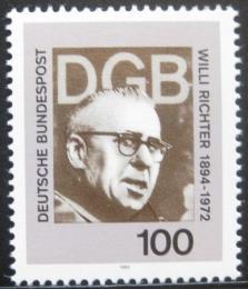 Poštovní známka Nìmecko 1994 Willi Richter, politik Mi# 1753
