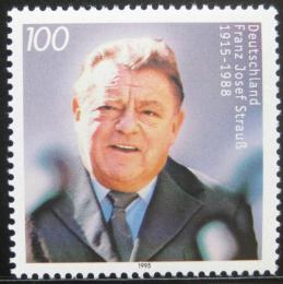 Poštovní známka Nìmecko 1995 Franz Josef Strauss, politik Mi# 1818
