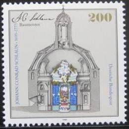 Poštovní známka Nìmecko 1995 Johann Conrad Schlaun, architekt Mi# 1787