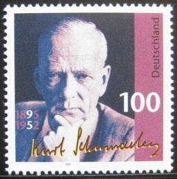 Poštovní známka Nìmecko 1995 Kurt Schumacher, politik Mi# 1824