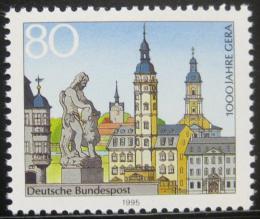 Poštovní známka Nìmecko 1995 Provincie Gera milénium Mi# 1772