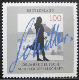 Poštovní známka Nìmecko 1995 Schillerova spoleènost Mi# 1792