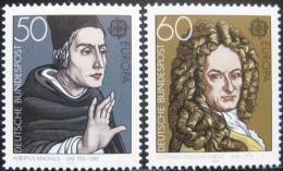 Poštovní známky Nìmecko 1980 Evropa CEPT, osobnosti Mi# 1049-50