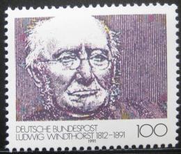 Poštovní známka Nìmecko 1991 Ludwig Windthorst, politik Mi# 1510