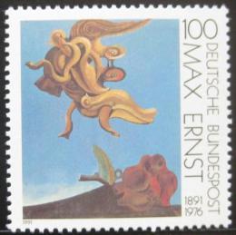 Poštovní známka Nìmecko 1991 Ptáèí monument, Max Ernst Mi# 1569
