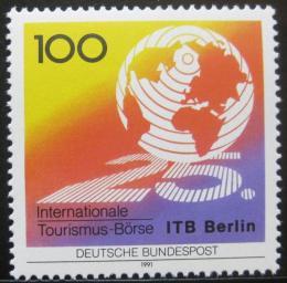 Poštovní známka Nìmecko 1991 Výmìnná turistika Mi# 1495