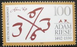 Poštovní známka Nìmecko 1992 Adam Riese, matematik Mi# 1612