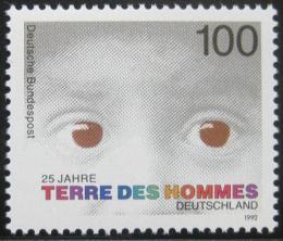 Poštovní známka Nìmecko 1992 Dìtská sociální péèe Mi# 1585