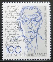 Poštovní známka Nìmecko 1992 Werner Bergergruen, spisovatel Mi# 1629