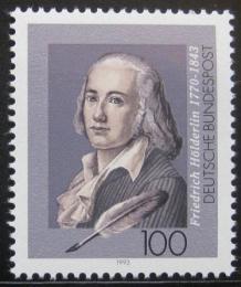 Poštovní známka Nìmecko 1993 Friedrich Holderlin, básník Mi# 1681