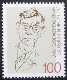 Poštovní známka Nìmecko 1993 Hans Fallada, spisovatel Mi# 1683
