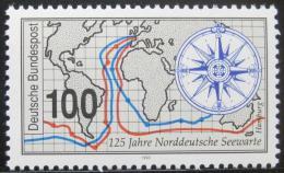 Poštovní známka Nìmecko 1993 Námoøní observatoø Mi# 1647