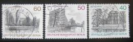 Poštovní známky Západní Berlín 1978 Krásy Berlína Mi# 578-80