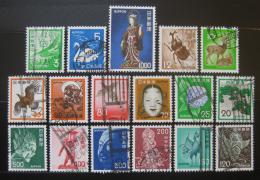 Poštovní známky Japonsko 1971-75 Rùzné motivy SC# 1067-87