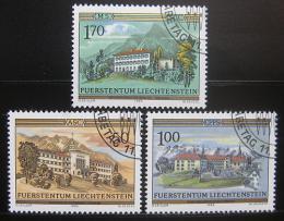 Poštovní známky Lichtenštejnsko 1985 Kláštery Mi# 868-70