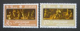 Poštovní známky Lichtenštejnsko 1985 Evropa CEPT Mi# 866-67