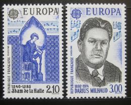 Poštovní známky Francie 1985 Evropa CEPT Mi# 2497-98