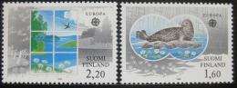 Poštovní známky Finsko 1986 Evropa CEPT Mi# 985-86 Kat 7€