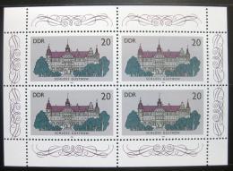 Poštovní známky DDR 1986 Zámek Güstrow Mi# 3033