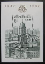 Poštovní známka DDR 1986 Královský palác v Berlínì Mi# Block 84