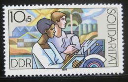Poštovní známka DDR 1986 Mezinárodní solidarita Mi# 3054