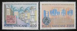 Poštovní známky Vatikán 1987 Muzeum filatelie Mi# 924-25