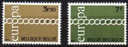 Poštovní známky Belgie 1971 Evropa CEPT Mi# 1633-34