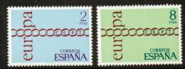 Poštovní známky Španìlsko 1971 Evropa CEPT Mi# 1925-26