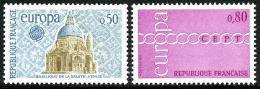 Poštovní známky Francie 1971 Evropa CEPT Mi# 1748-49