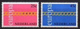 Poštovní známky Nizozemí 1971 Evropa CEPT Mi# 963-64