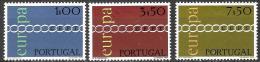 Poštovní známky Portugalsko 1971 Evropa CEPT Mi# 1127-29 Kat 30€