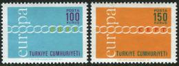 Poštovní známky Turecko 1971 Evropa CEPT Mi# 2210-11